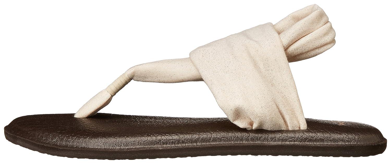 Sanuk Women's Yoga Sling 2 Metallic Flip Flop M 10 M Flop US|Rose Gold B00OGS9F1C 62bb1c