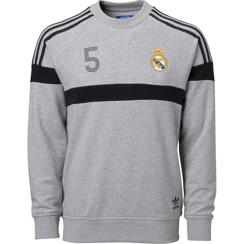 Amazon.com   adidas Real Madrid Soccer Crewneck Sweatshirt (XS)   Sports    Outdoors 589a5e298