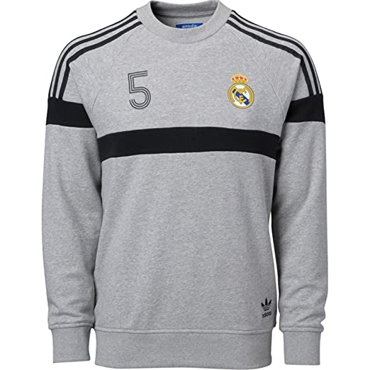 3328bc880 Amazon.com   adidas Real Madrid Soccer Crewneck Sweatshirt (XS ...