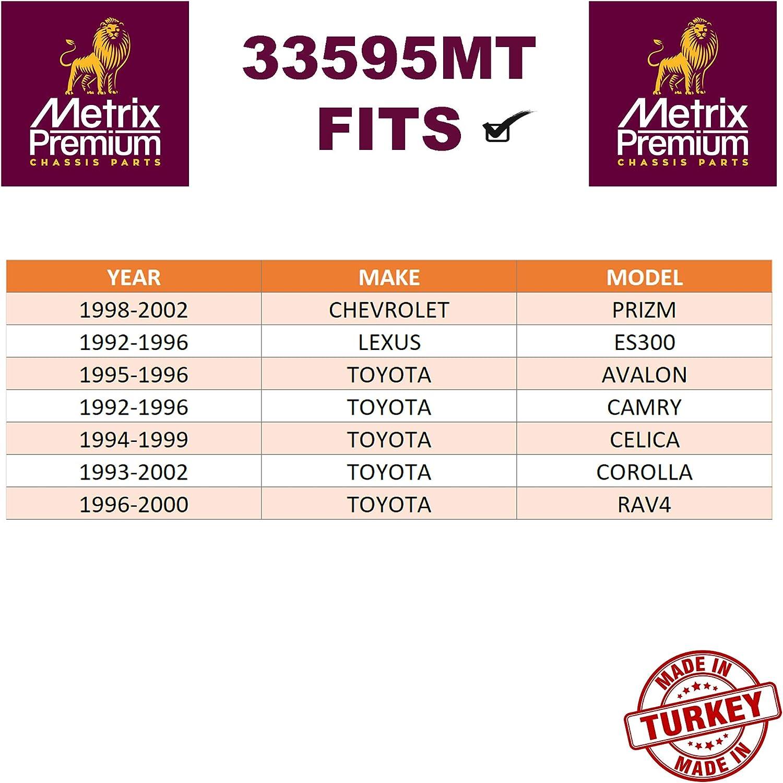 92-96 Camry 96-00 RAV4 95-96 Toyota Avalon Front Stabilizer Bar Link Kit K90124 Fits 98-02 Chevrolet Prizm 93-02 Corolla 94-99 Celica 92-96 Lexus ES300