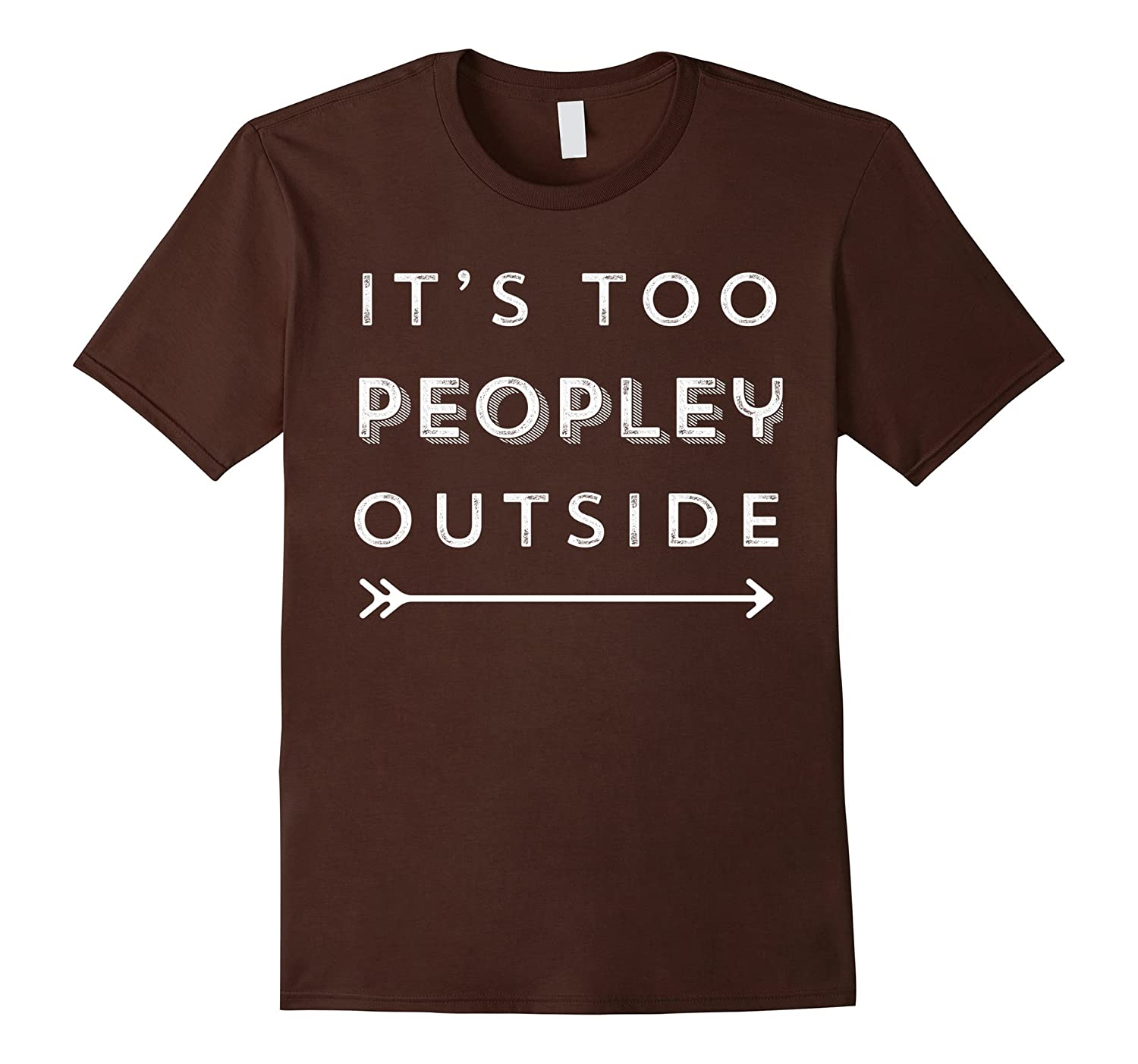 Boys Girls Its Too Peopley Outside Teen Youth Sweater Gray