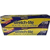 "KIRKLAND SIGNATURE Stretch Tite Plastic Wrap Pack X 750' 1"" (1500 Sq'),, None, 2.0 Count 1"