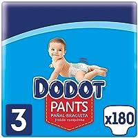 Dodot Pañales Bebé Pants Talla 3 (6-11 kg), 180 Pañales, Pañal-Braguita con Ajuste 360° Anti-Fugas