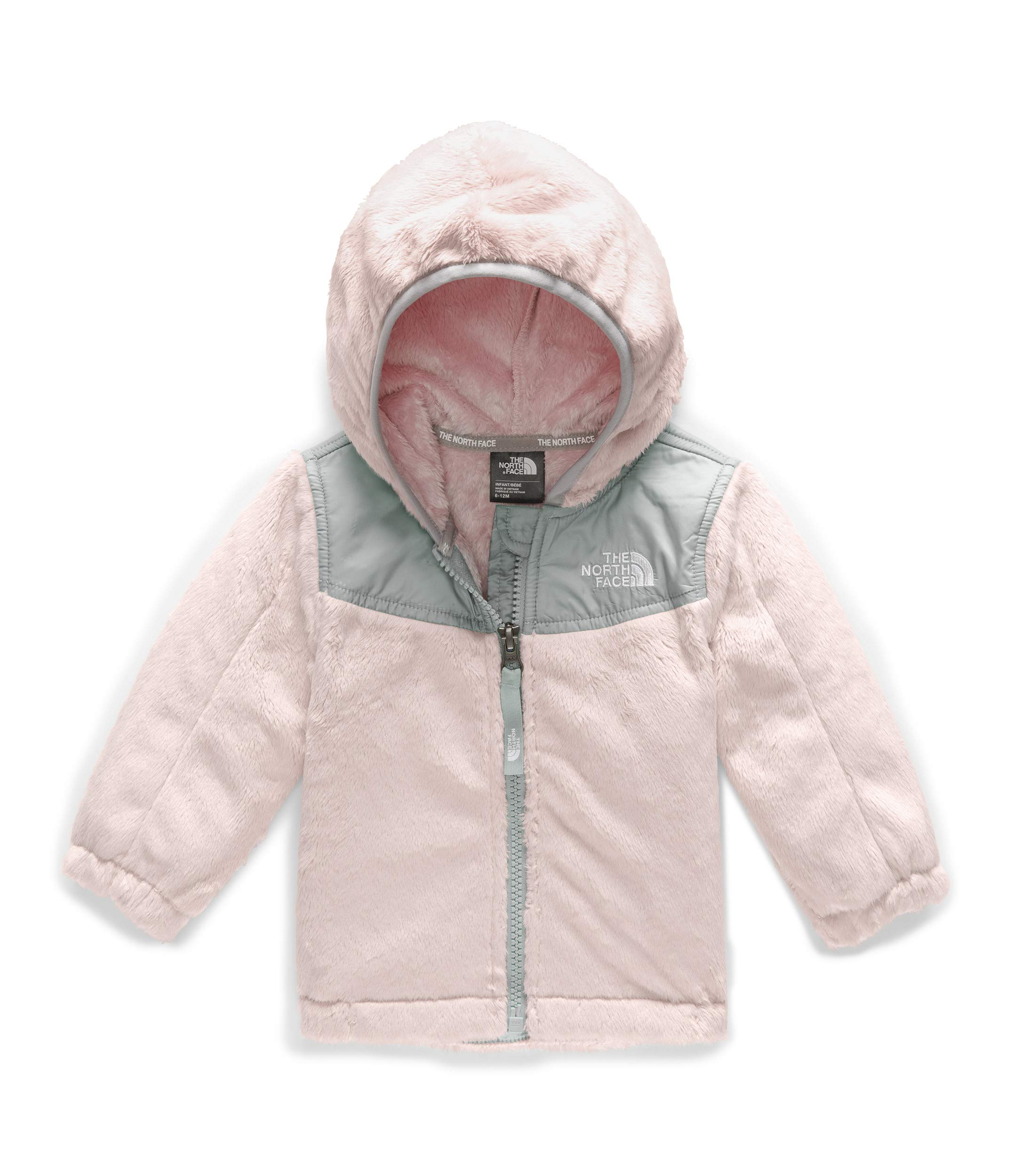 The North Face Kids Baby Girl's OSO Hoodie (Infant) Purdy Pink/Meld Grey 12-18 Months