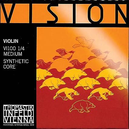 1 Pack Thomastik Vision Violin Strings Set Full Size 4//4