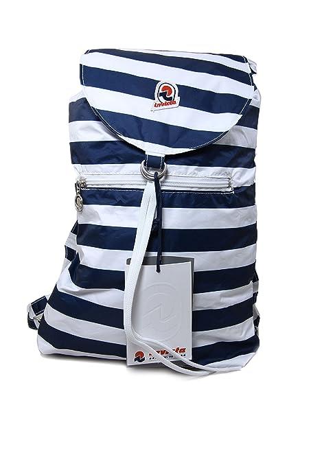 scarpe di separazione 33bd9 975f5 Invicta Mini Sac Next Nylon Backpack with Stripes (Blue, Pink, Red, Yellow)