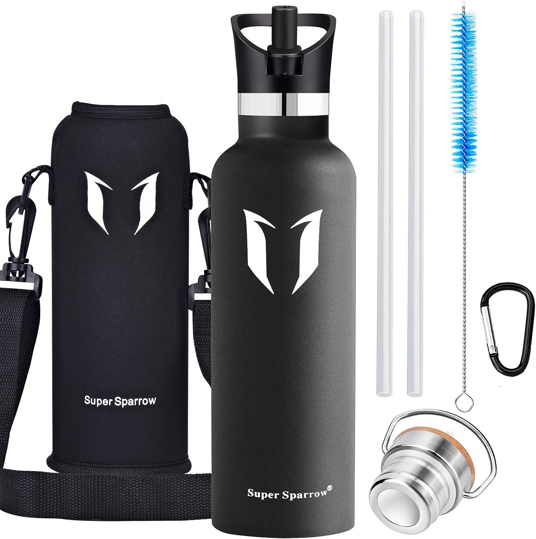 500ml Isolier Flasche ... Super Sparrow Trinkflasche Edelstahl Wasserflasche