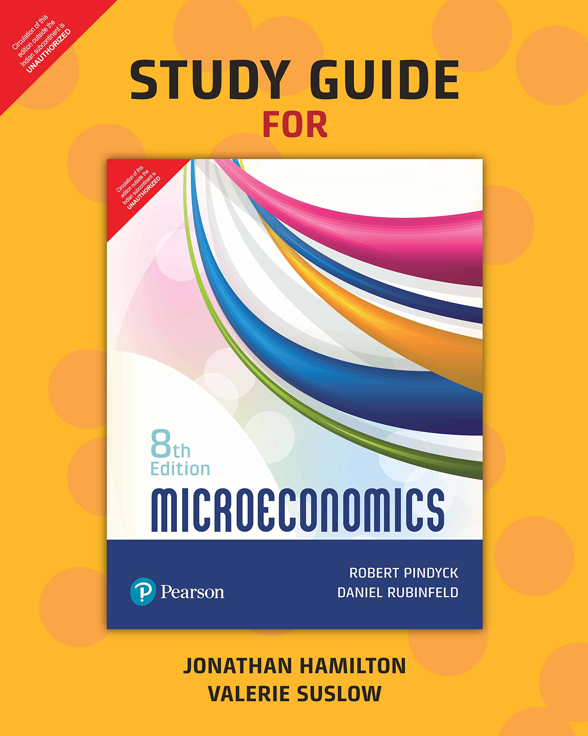 Study Guide For Microeconomics, 8Th Edition: Pindyck Robert And Rubinfeld  Daniel: 9789352862702: Amazon.com: Books
