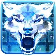 Polygon Wolf Keyboard Theme