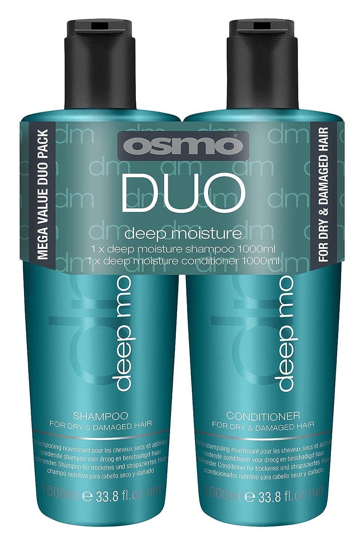 OSMO Deep Moisture Shampoo 1 Litre/Conditioner 1 Litre 064171
