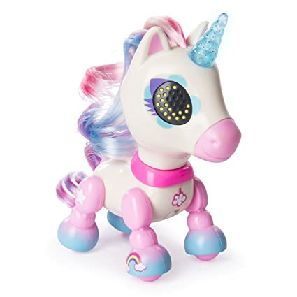 Amazon Com Zoomer Zupps Tiny Unicorns Dream Interactive Unicorn