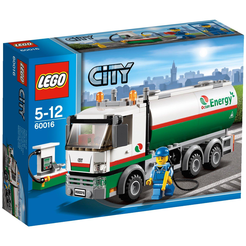 LEGO CITY - Grandes vehículos: camión cisterna (60016)