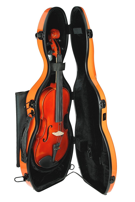Estuche para violín Fibra de vidrio Ultra Light 4/4 naranja M-Case