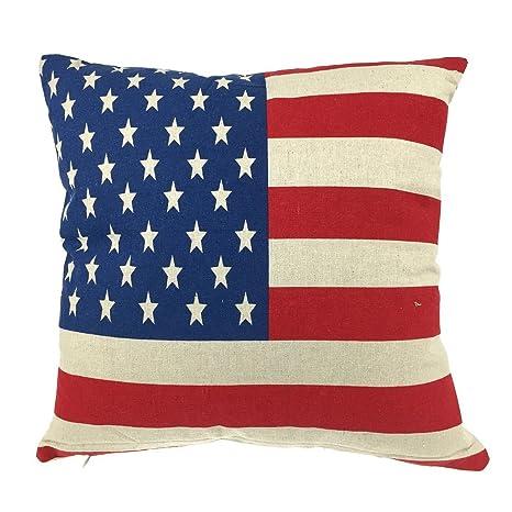 Amazon.com: Luxbon la bandera americana Decoración Día de la ...
