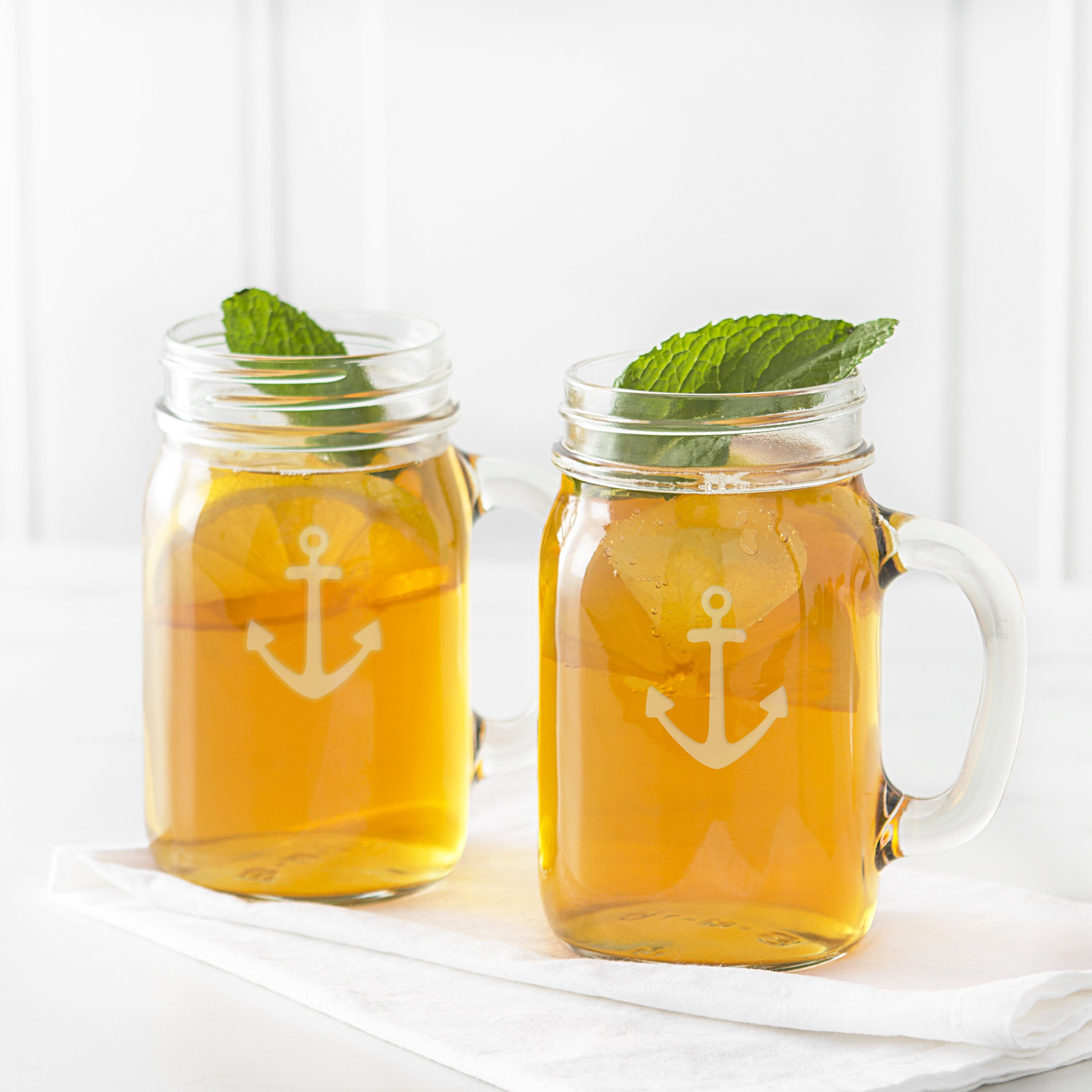 Cathy's Concepts CCA1190 Anchor Old Fashioned Drinking Jars Set Of 4 by Cathy's Concepts (Image #11)