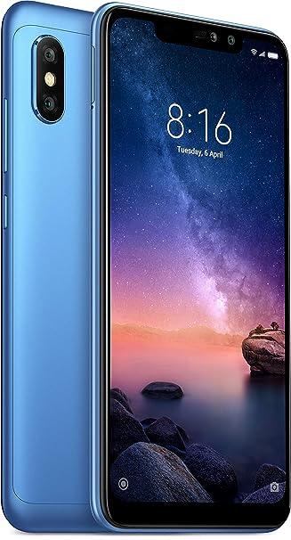 Redmi Note 6 Pro 64gb 4gb Ram Blue Amazon In Electronics