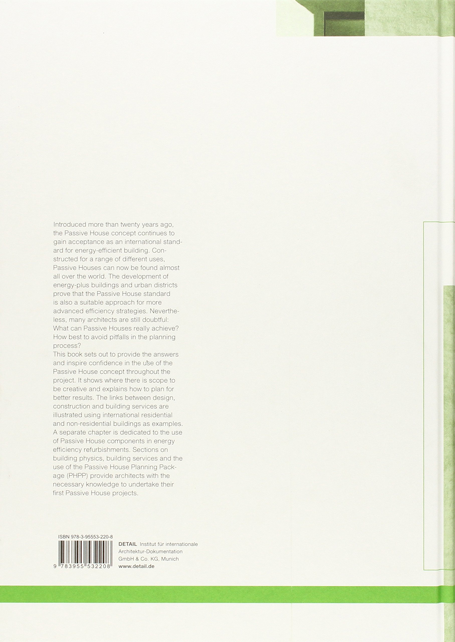 Passive House Design (Edition Detail Green Books)