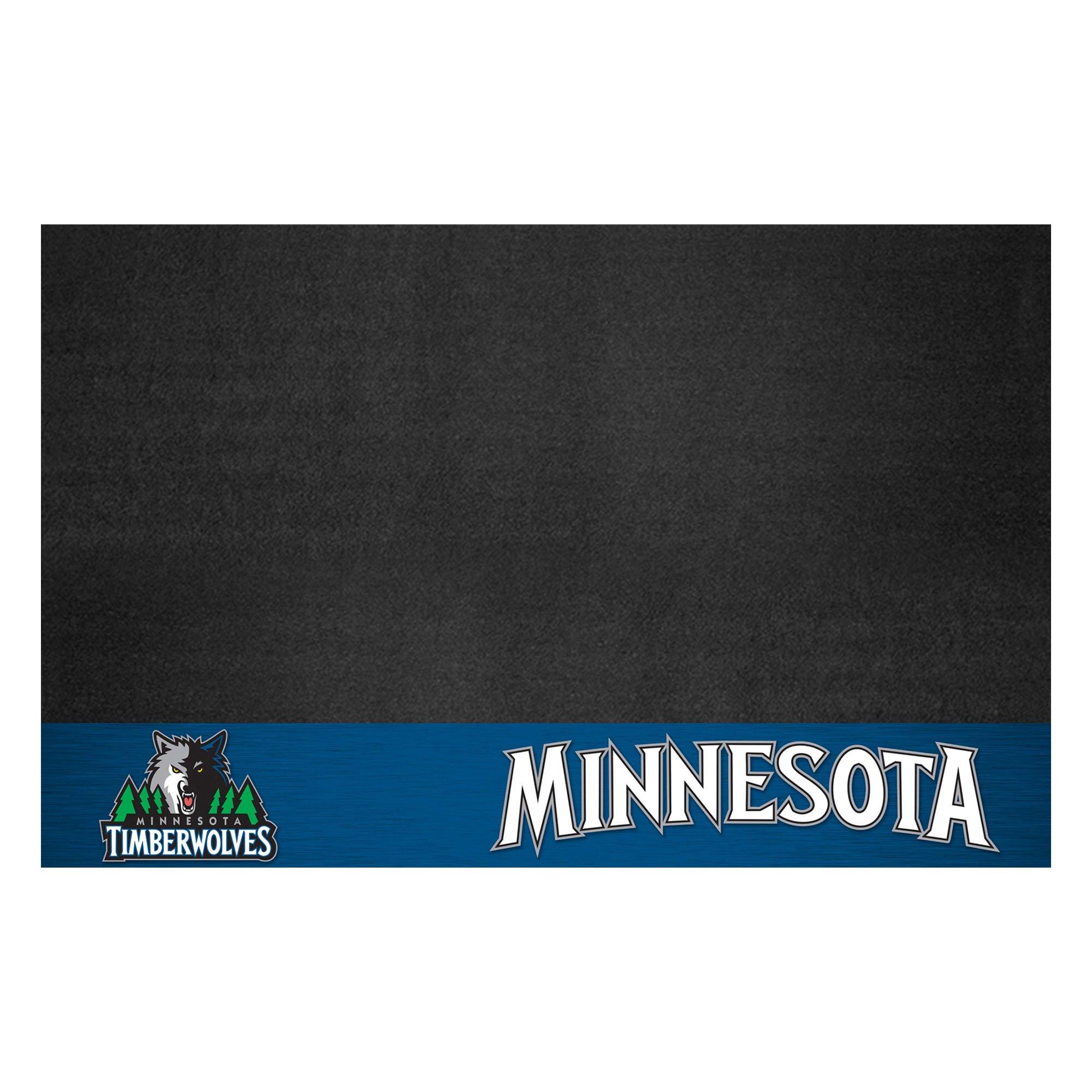 FANMATS 14212 NBA Minnesota Timberwolves Grill Mat