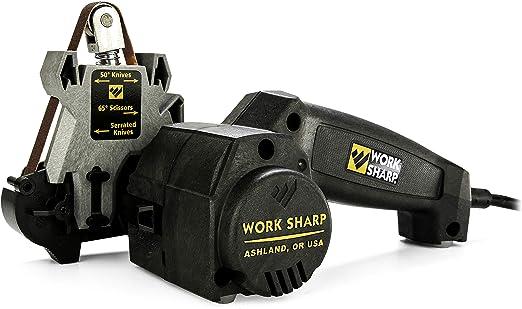 Best electric knife sharpener : Work Sharp WSKTS-W Knife and Tool Sharpener