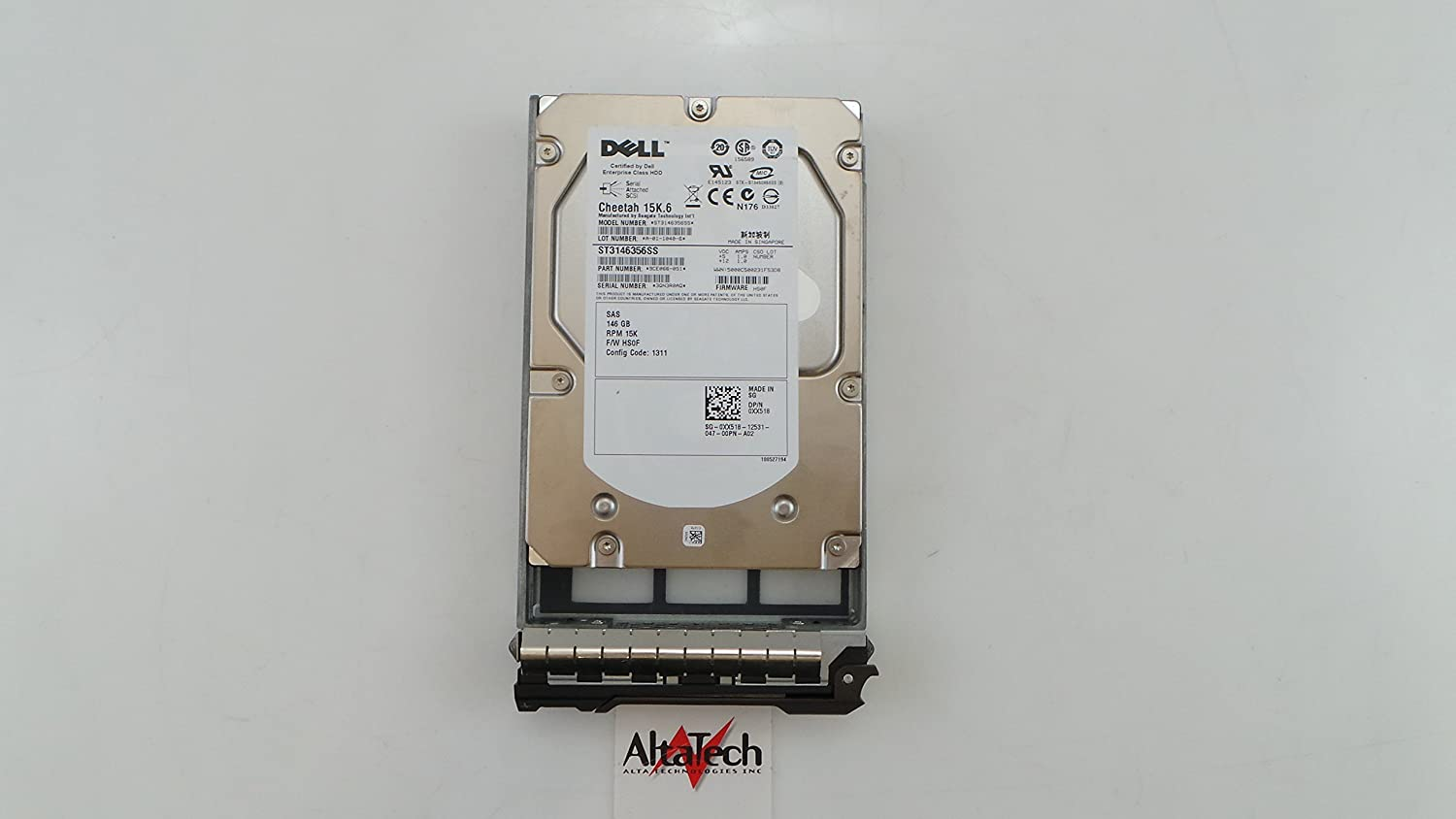 Dell XX518 146GB Hard Drive