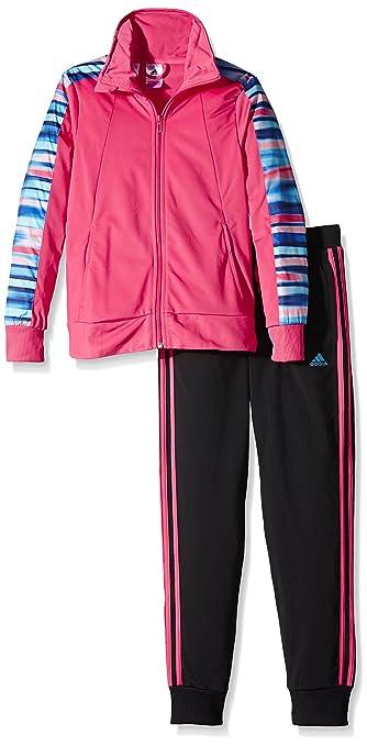 adidas Performance, Trainingsanzug YG PES TS für Mädchen, pink