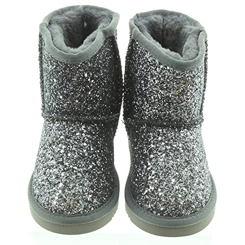 49007cc1 Lelli Kelly Kids LK7676 Sandra Boots In Pewter: Amazon.co.uk: Shoes ...