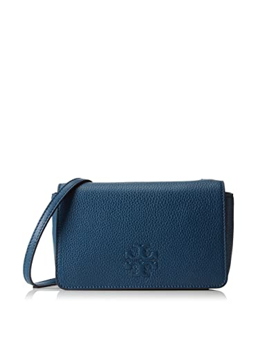 a33c89942426c Amazon.com  Tory Burch Thea Mini Crossbody Bag in Tidal Wave  Shoes