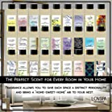 LOVSPA Vanilla & Patchouli Reed Diffuser Refill Oil with Replacement Reed Sticks - Great Scent for Kitchen or Bathroom, 4 oz - Made in The USA