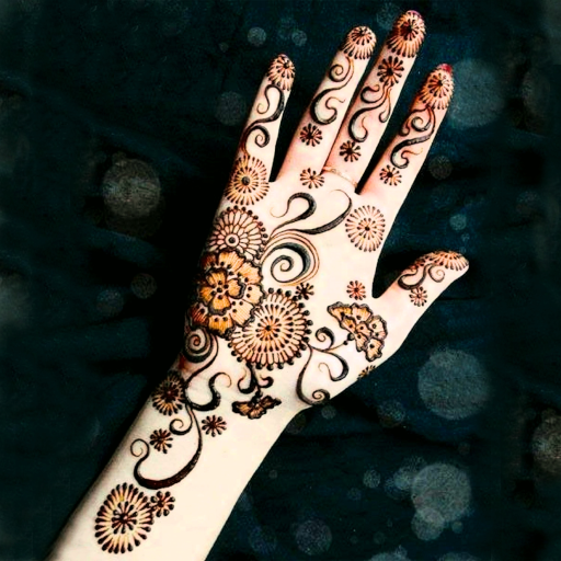 latest mehndi design image