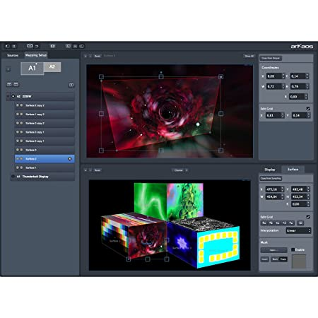Grand VJ 2 XT VJ Software mit Video Mapping: Amazon.es ...