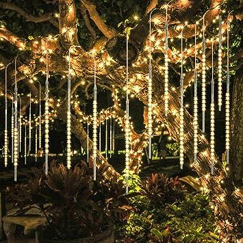 180 bis 360 LED Chip Lichterkette 8 Funktionen LED Lichtervorhang warmweiß
