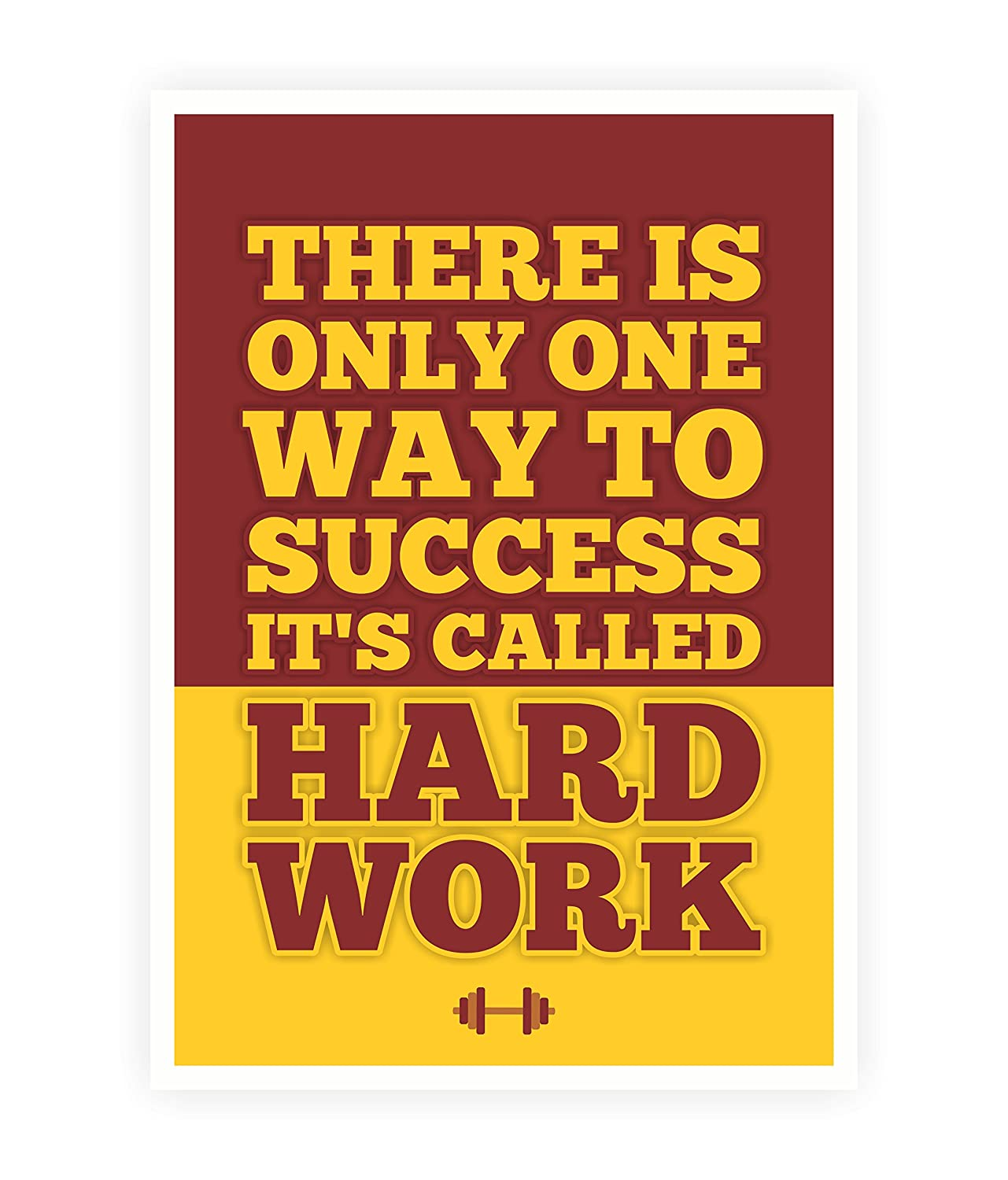 Lab No 4 Success Called Hard Work Fitness Gym Quotes Poster Size A3 16 5 X 11 7 Amazon In Home Kitchen
