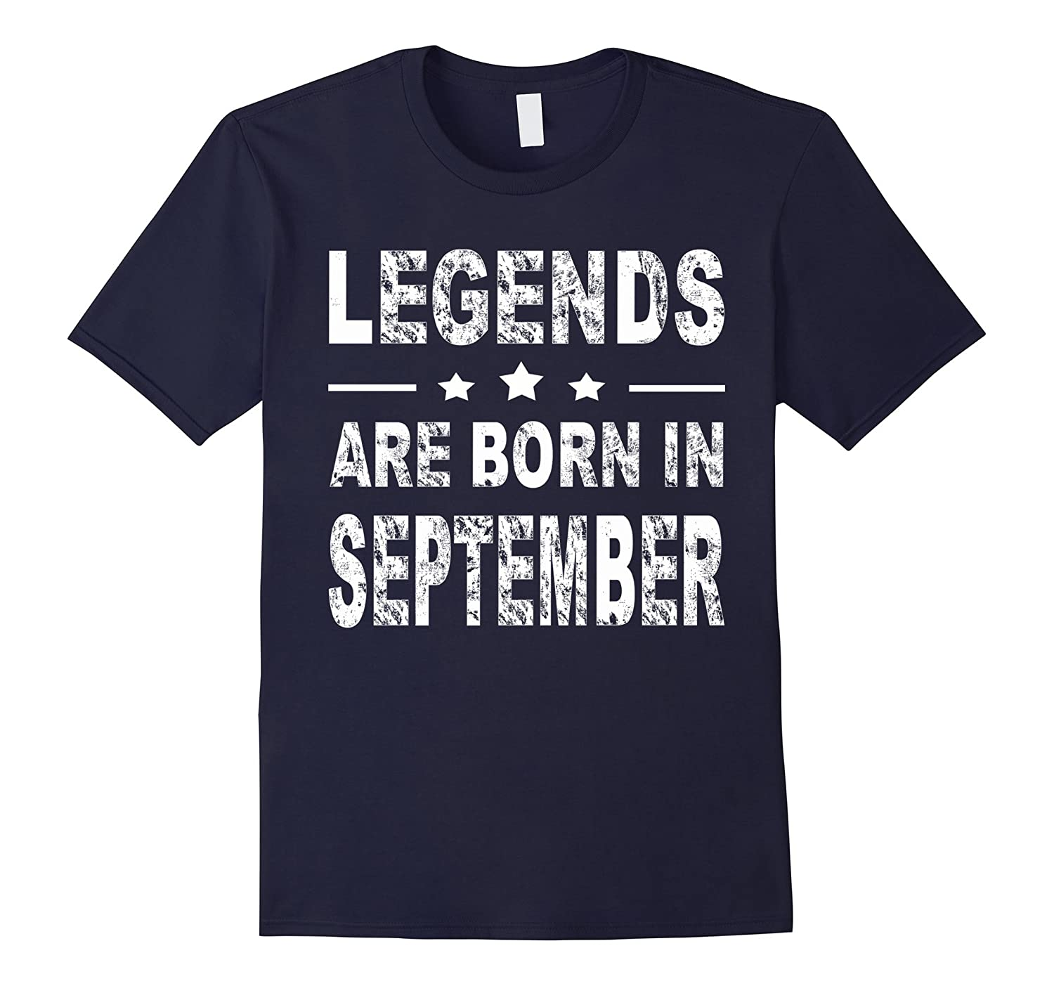 Legends Are Born In September Shirt-CD