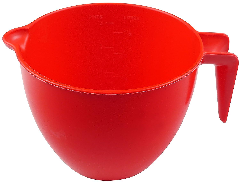 Good 2 Heat Buena 2 de Calor para microondas Jarra medidora 1.5ltr - Capacidad. (Nuevo) Libre de BPA con un Mango Que se Mantiene frío para Mayor ...