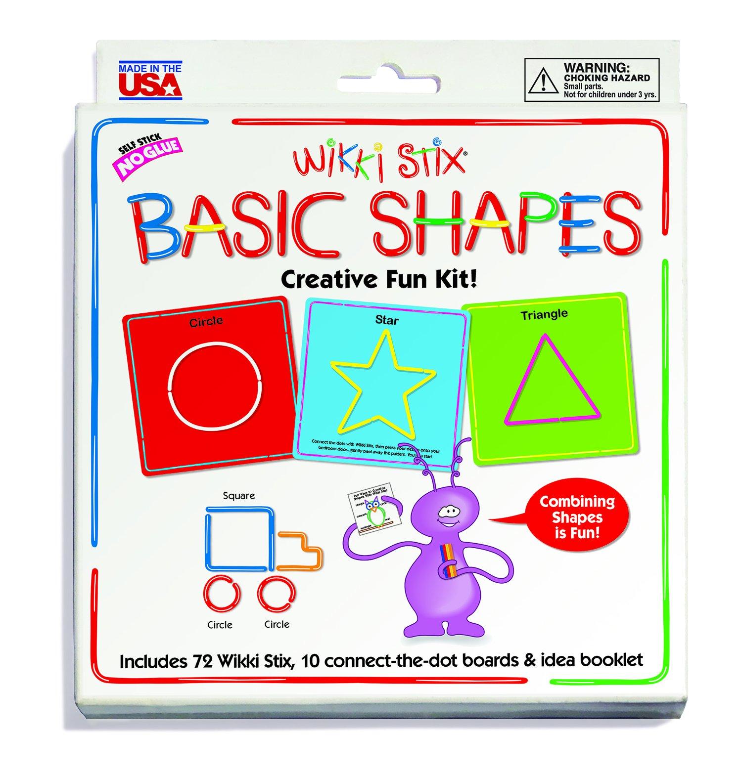 WikkiStix Basic Shapes by WikkiStix