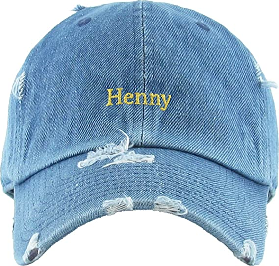 b9c18850729 KBSV-038 BLK Henny Bottle Dad Hat Baseball Cap Polo Style Adjustable  Amazon .ca  Sports   Outdoors