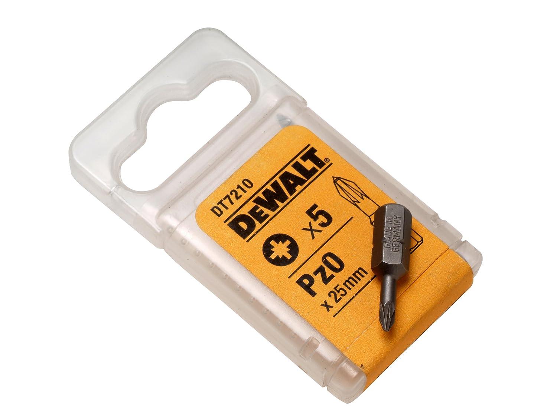 DeWalt DT7227QZ 50mm PZ3 Torsion Bit (5 Pieces) DT7227-QZ
