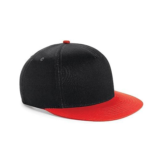 20fc1d431 Beechfield Youth Unisex Retro Snapback Cap