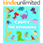Count the Dinosaurs: Counting Puzzle Book for Kids ages 2-4