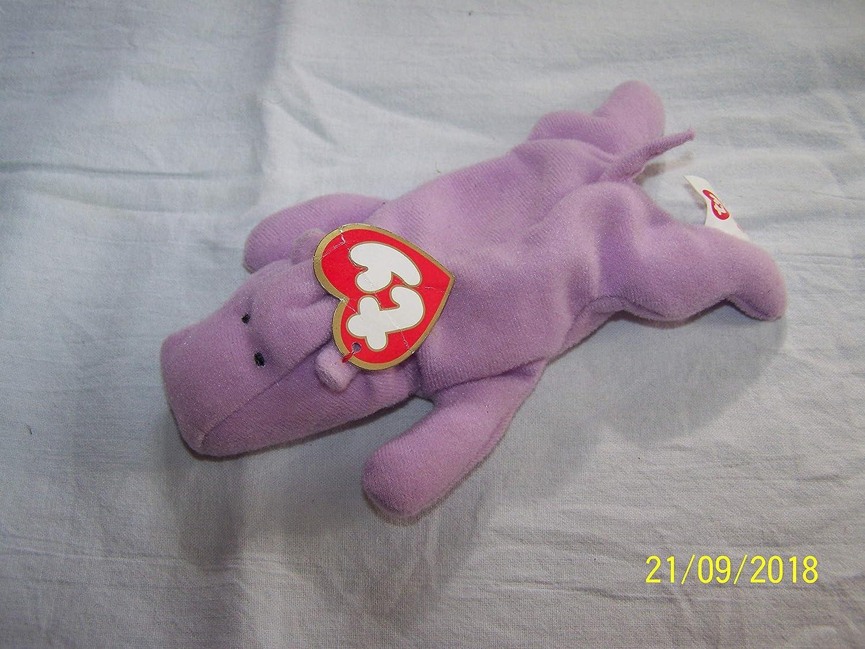 Mcdonalds Ty Teenie Beanie Babies #6 Happy the Hippo Doll Toy SG/_B002F8ZBBS/_US
