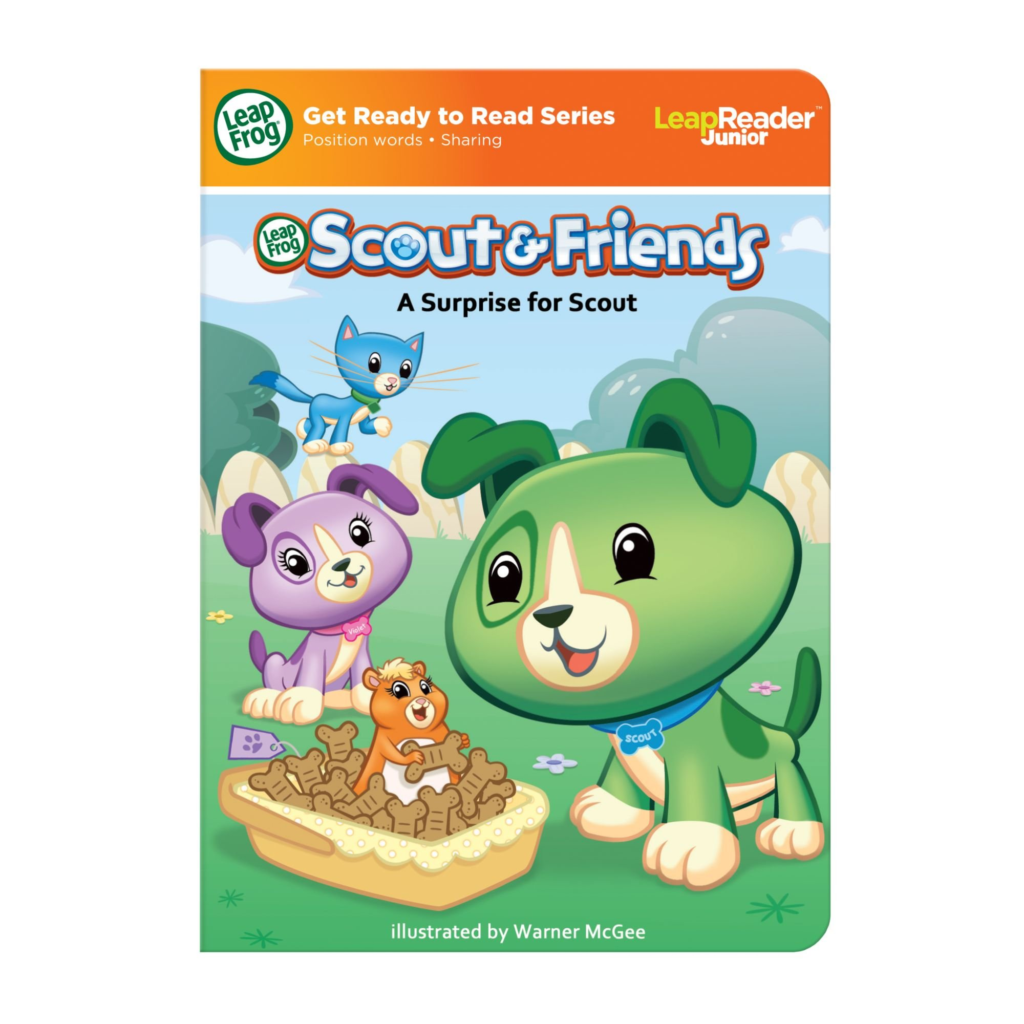 LeapFrog Tag Junior Book Scout And Friends: A Surprise for Scout (works with LeapReader Junior) by LeapFrog (Image #6)