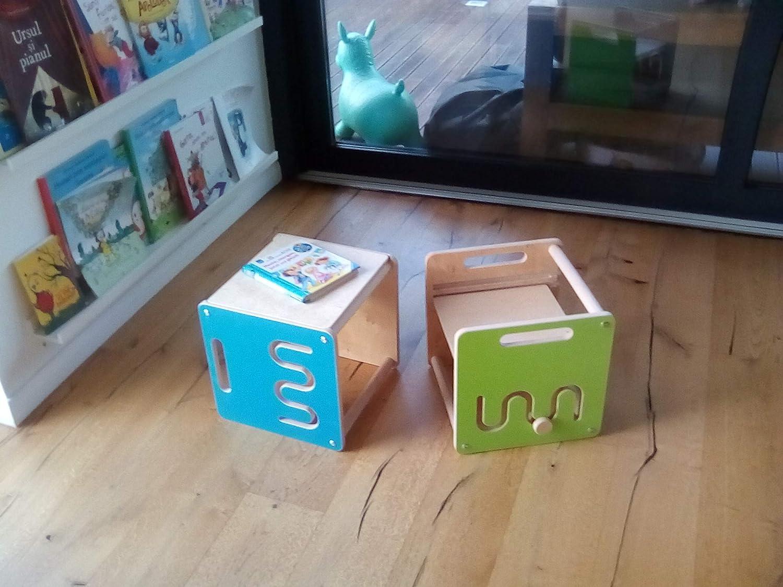 Leea Toys Little Montessori - Silla y Mesa: Amazon.es: Juguetes y ...