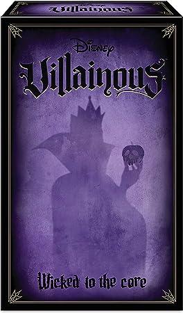 Comprar juego de mesa: Ravensburger Disney Villainous Wicked to the core - Versión española, Light Strategy Game, 2-3 Jugadores, Edad recomendada 10+ (26857)