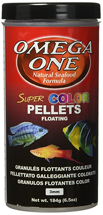 Amazon.com : Omega One Super Color Pellets - Floating 6.5oz. : Pet Food : Pet Supplies