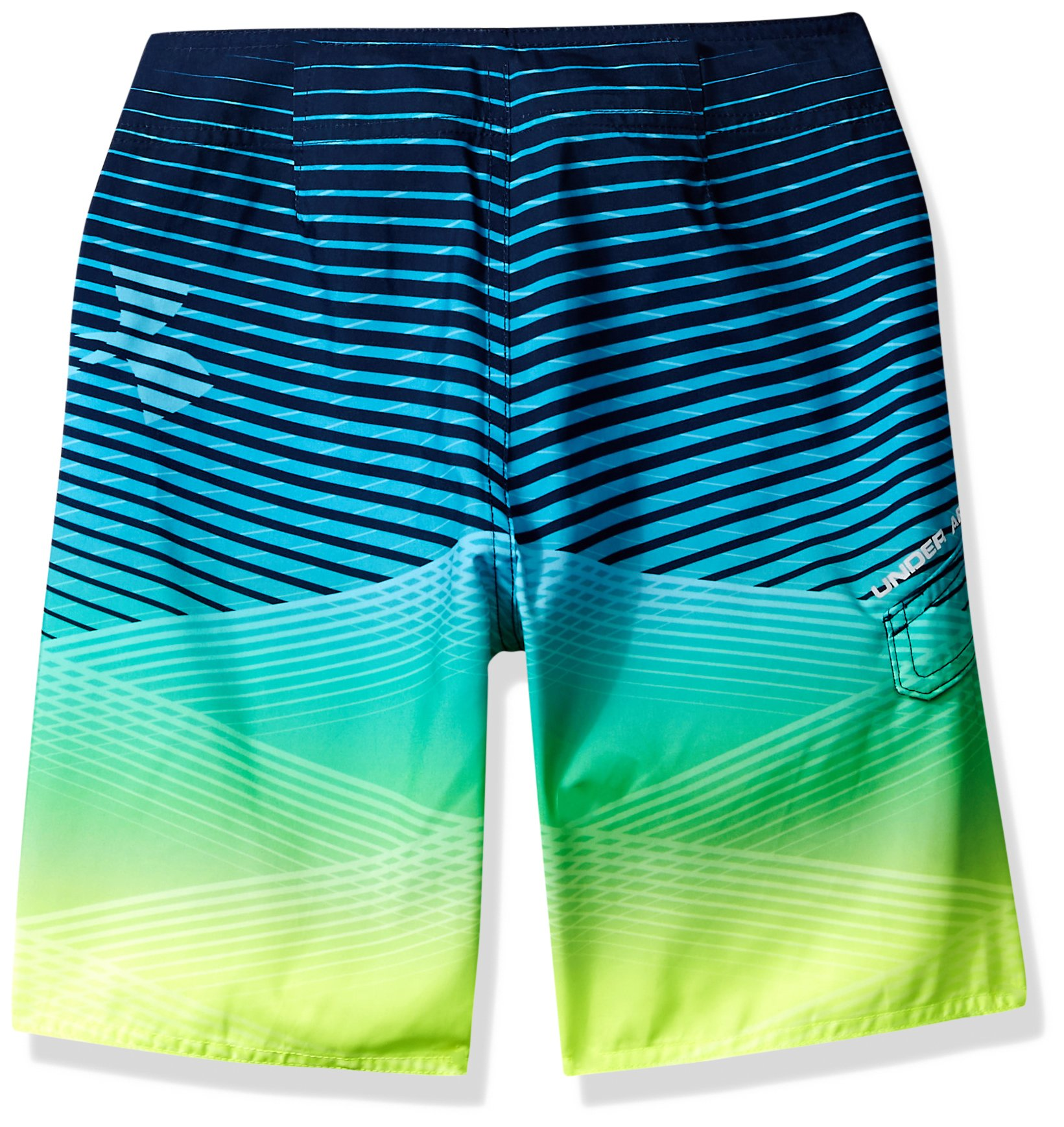 Under Armour Big Boys' Boardshort, Arena Green, 20 by Under Armour (Image #2)