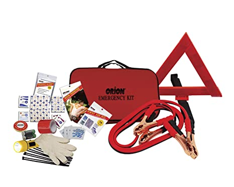 Amazon Com Orion Roadside Car Emergency Safety Kit Includes First