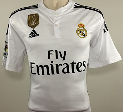 adidas Real Madrid Camiseta de Local 2014/2015: Amazon.es: Ropa y accesorios