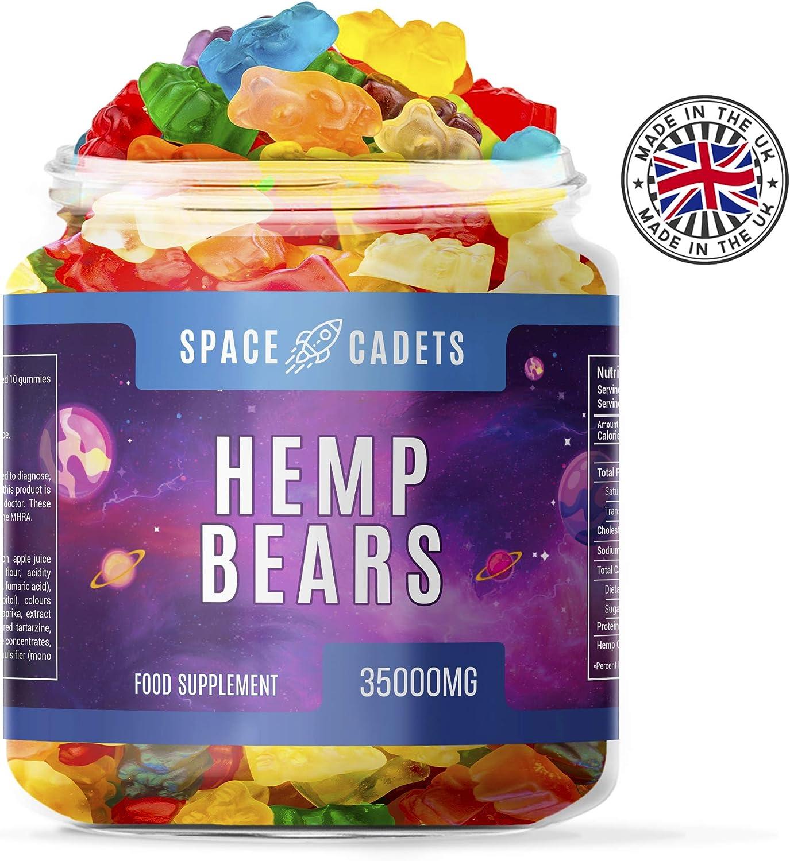 3 en 1 70 piezas Space Cadets 35000mg Osos Omega 3.6 & 9 sabores mixtos osito gomoso para uso personal en la noche | 500 mg por oso