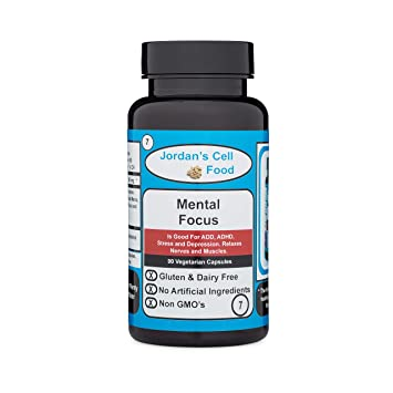 Amazon com: Mental Focus (Similar o Dr  Sebi's Banju) Qty: 90