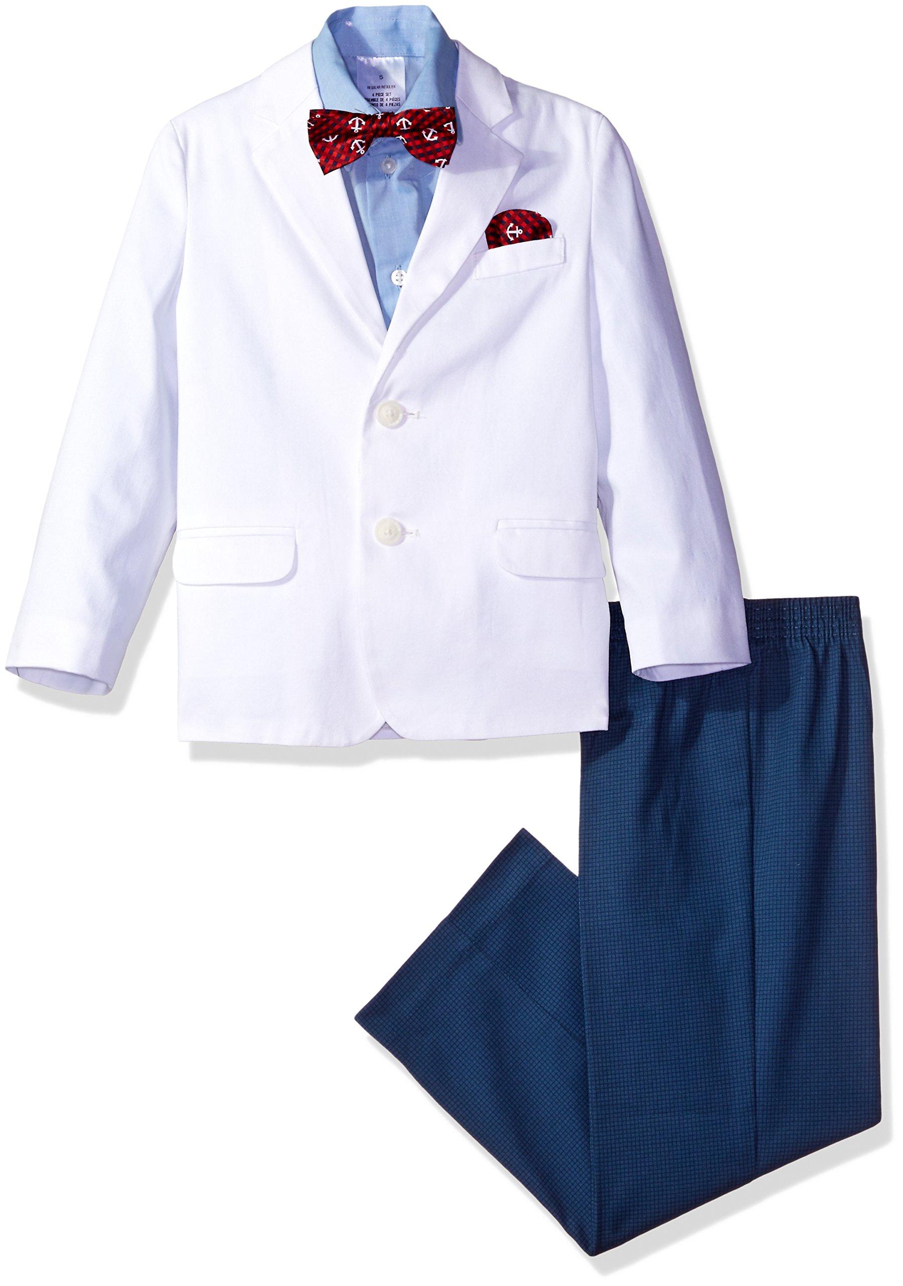Nautica Boys' Big 4-Piece Formal Dresswear Suit Set
